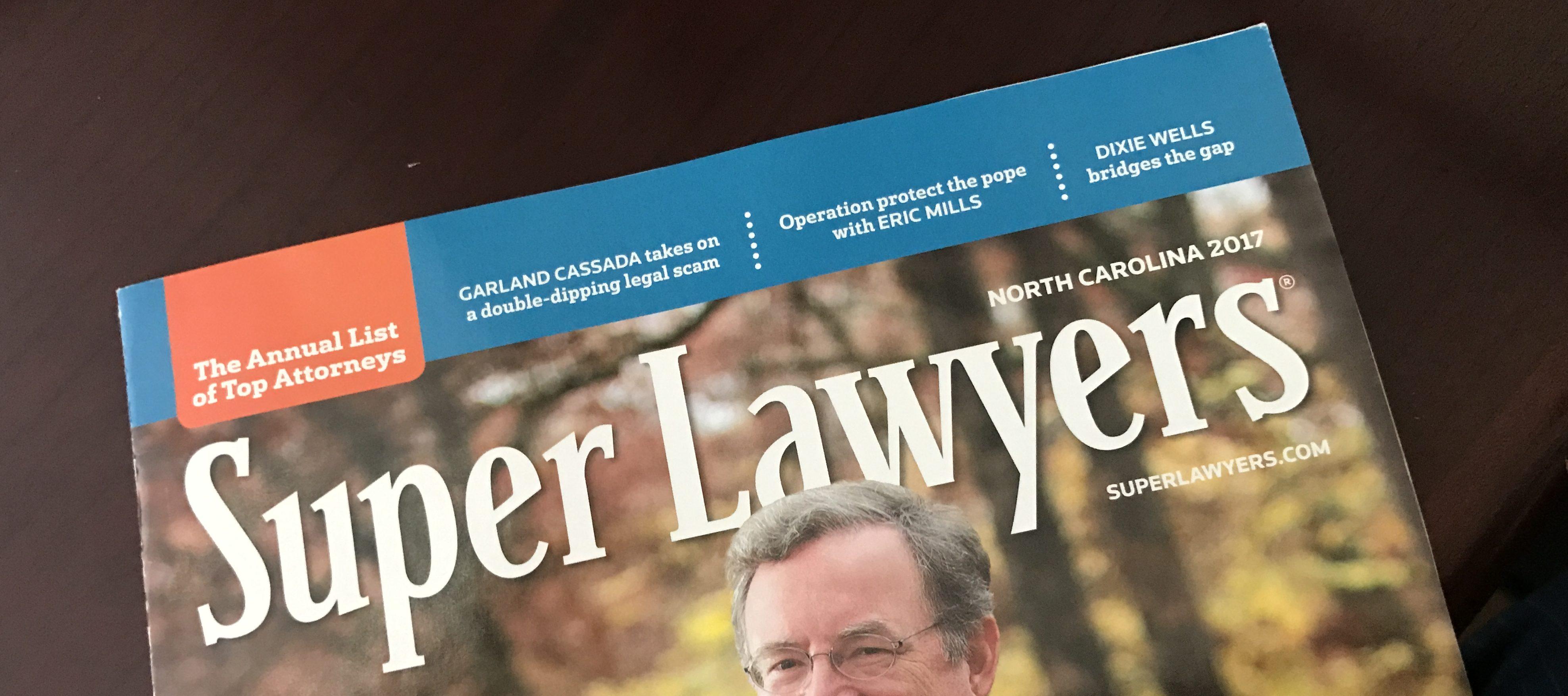 2017 Super Lawyers Magazine Ron Payne Rising Star