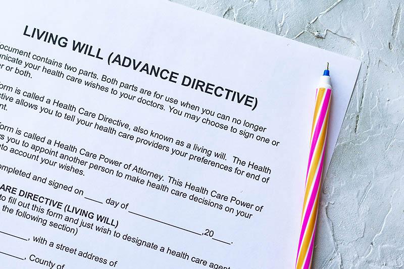 living-will Estate Planning