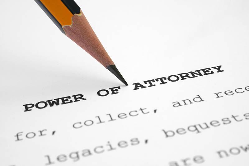 power-of-attorney Estate Planning