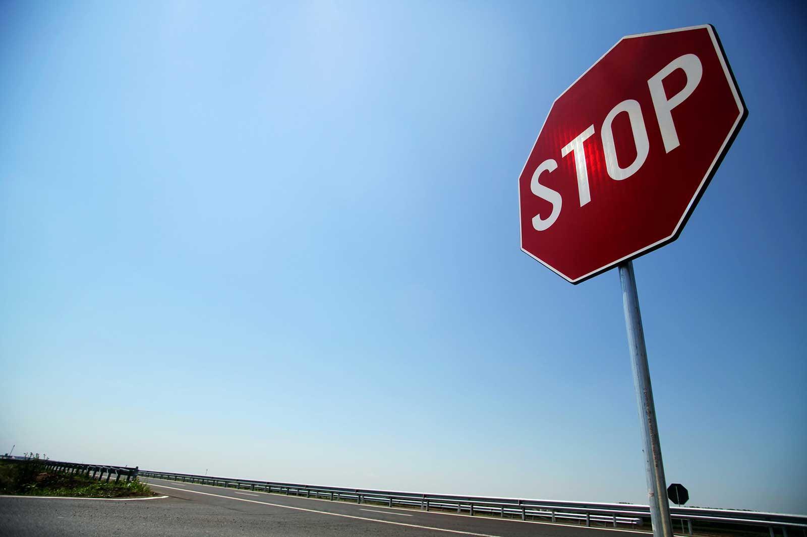 stopsign Traffic Law
